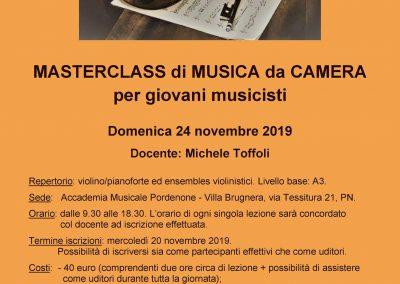 Masterclass di Musica da Camera