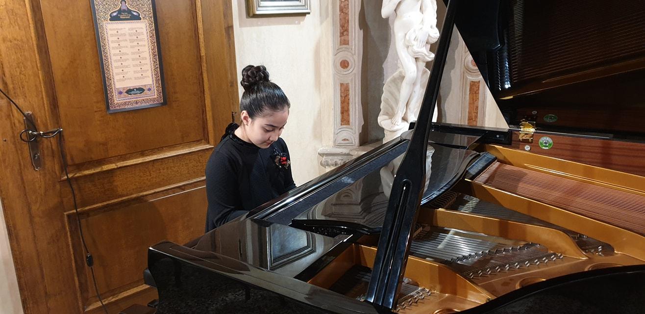 Saggio di Natale della Classe di Pianoforte del prof. Romeo Salamon.
