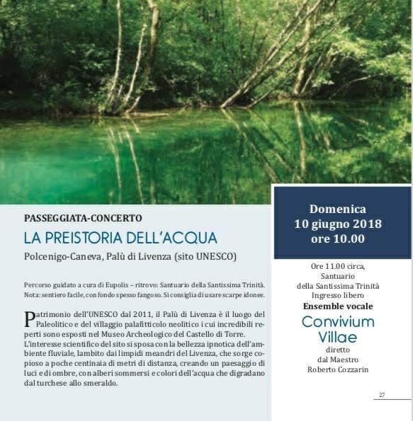 La Preistoria Dell Acqua 10.6.18