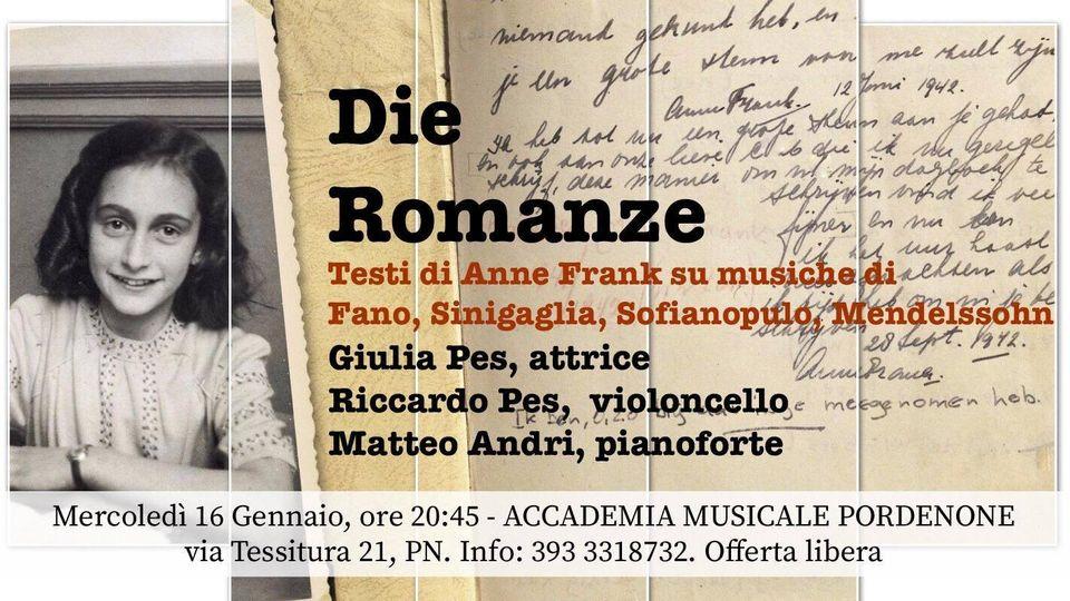 Locandina Die Romanze - Pes,Pes,Andri